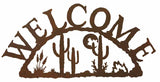 Desert Moon Welcome Sign