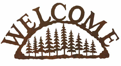Pine Forest Welcome Sign