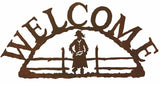 Cowgirl Welcome Sign