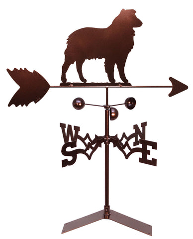 Australian Shepherd Dog Design Weathervane
