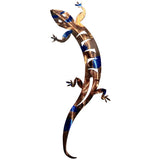 Lizard Southwest Metal Wall Art
