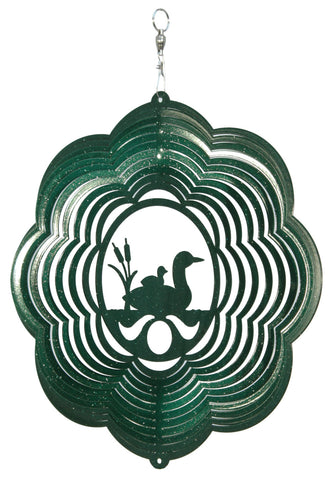 Loon Design Metal Wind Spinner