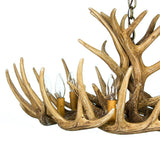 Whitetail 12 Antler Cascade Reproduction Chandelier