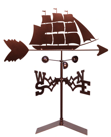 Clipper Ship Nautical Design Weathervane