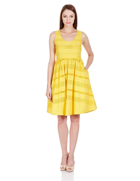 Chemistry Women's Cotton Skater Dress