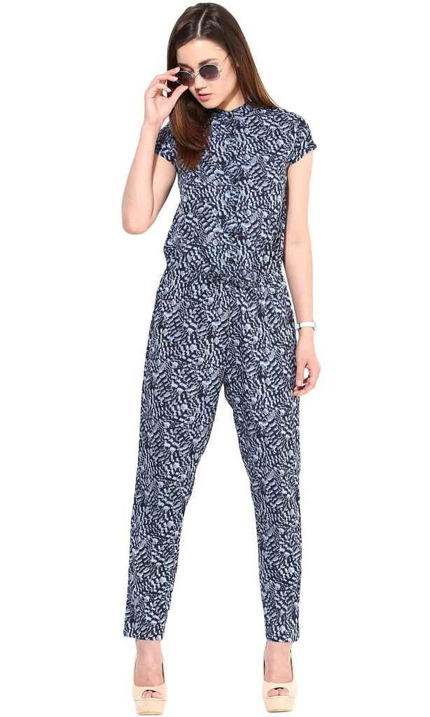The Gud Look Women's Poly Crepe Jumpsuit