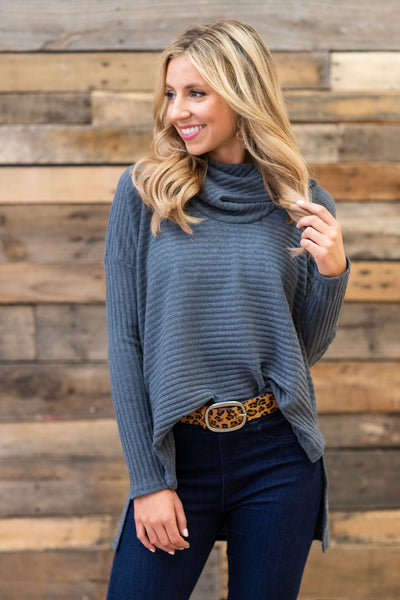 All Starts Mile Sweater Blue Gray