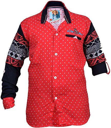 Designer Dotted Shirt