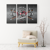 """Be Humble"" Native 3 Canvas Print"