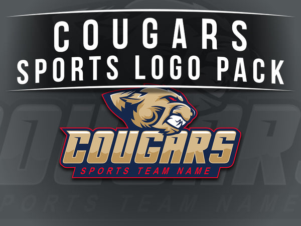 Cougars Sports Logo Pack