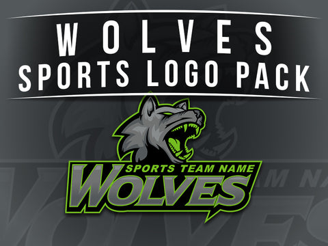 Wolves Sports Logo Pack