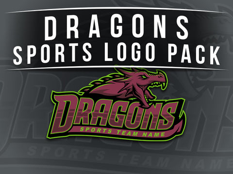 Dragons Sports Logo Pack
