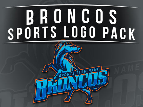 Broncos Sports Logo Pack