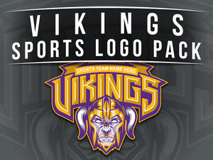 Vikings Sports Logo Pack