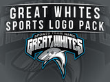 Great Whites Sports Logo Pack