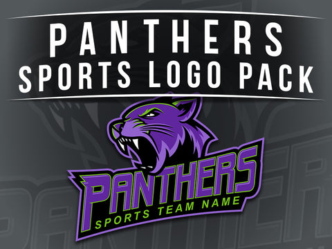 Panthers Sports Logo Pack