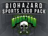 Biohazard Sports Logo Pack