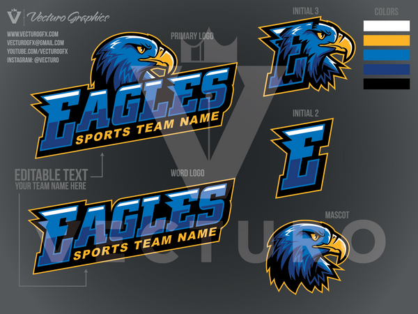 Eagles Sports Logo Pack