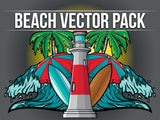 Beach Vector Pack