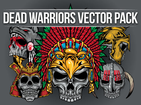 Dead Warriors Vector Pack