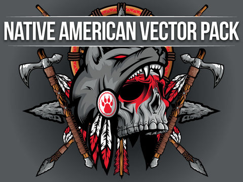 Native American Vector Pack