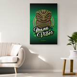 """Mana Vibes"" Polynesian Single Canvas Print"