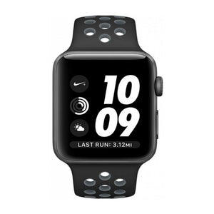 Apple Nike+ 42mm Aluminum Case Sport Band MNYY2 (Black Cool Gray)