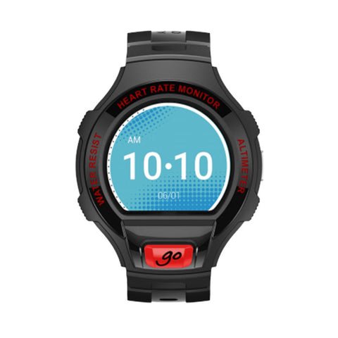 Alcatel OneTouch Go SM03 Smart Watch (Black/Red)