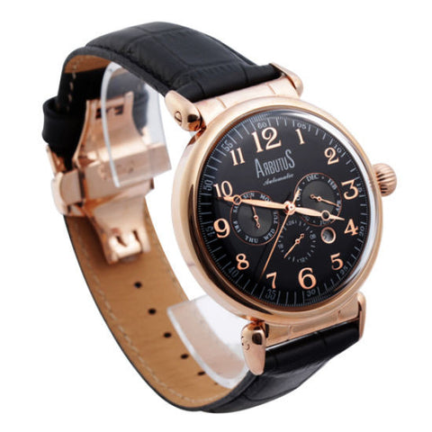 Arbutus Ahbyu Tooth AR704RBB Watch (New with Tags)