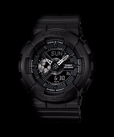 Casio Baby-G Standard Analog-Digital BA-110BC-1ADR Watch (New With Tags)