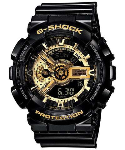 Casio G-Shock Special Color Model GA-110GB-1ADR Watch (New with Tags)