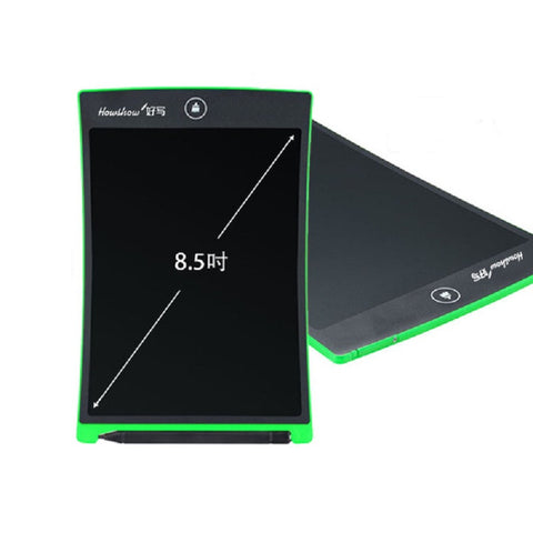 Good Writing 8.5-Inch Light LCD Handwriting and Drawing Board Small for Children (Green)
