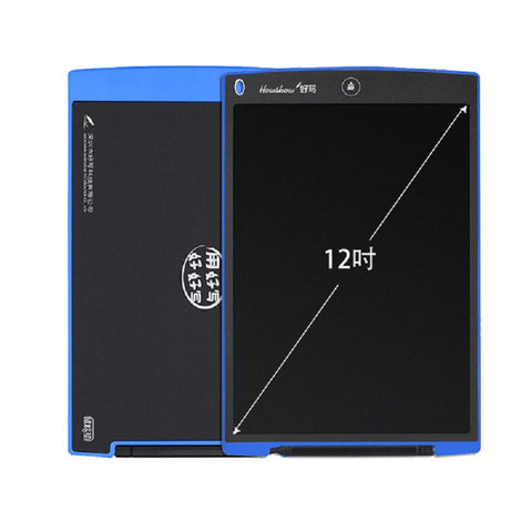 Good Writing 12-Inch Light LCD Handwriting and Drawing Board Small for Children (Blue)