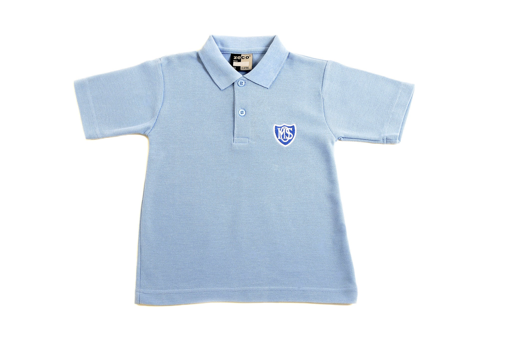 Blue Polo Shirt Bespoke School Wear