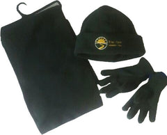 Fleece Hat, Scarf & Glove Set