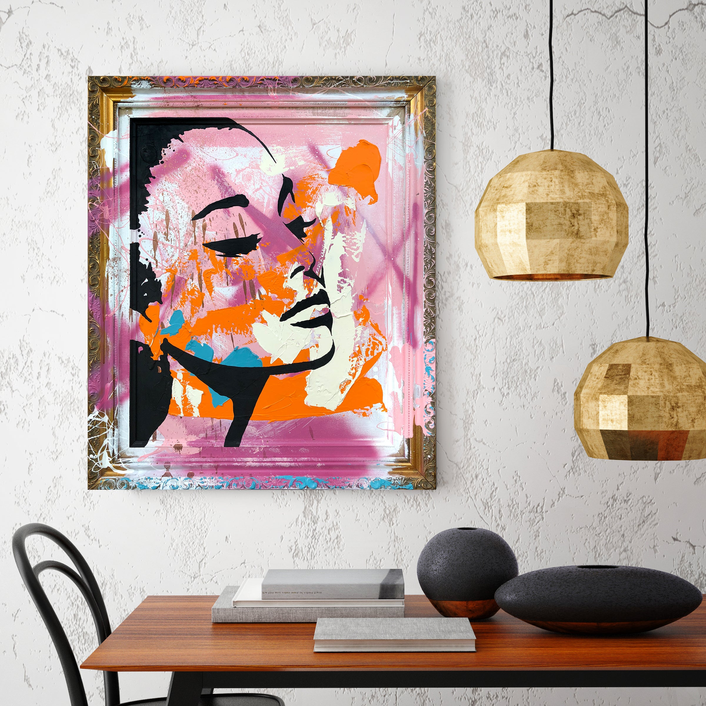 Contemporary Classic -  Original Painted Artwork