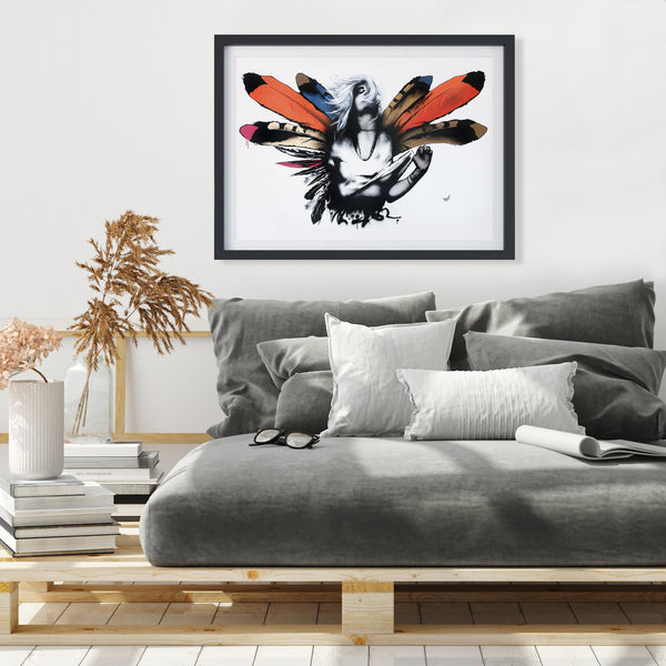 BOHO Wings - Limited Edition Art Print