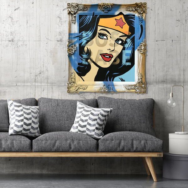 'BOSS BABE' -  Original Painted Artwork