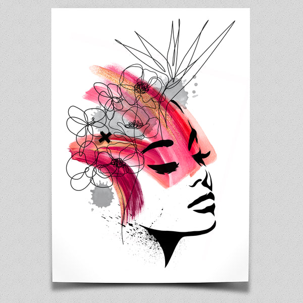 Washed Beauty - Limited Edition Art Print