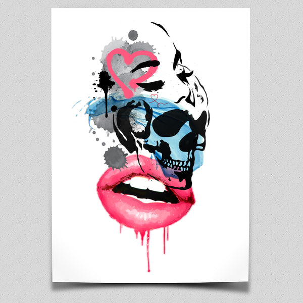 LOVE + Chaos - Limited Edition Art Print