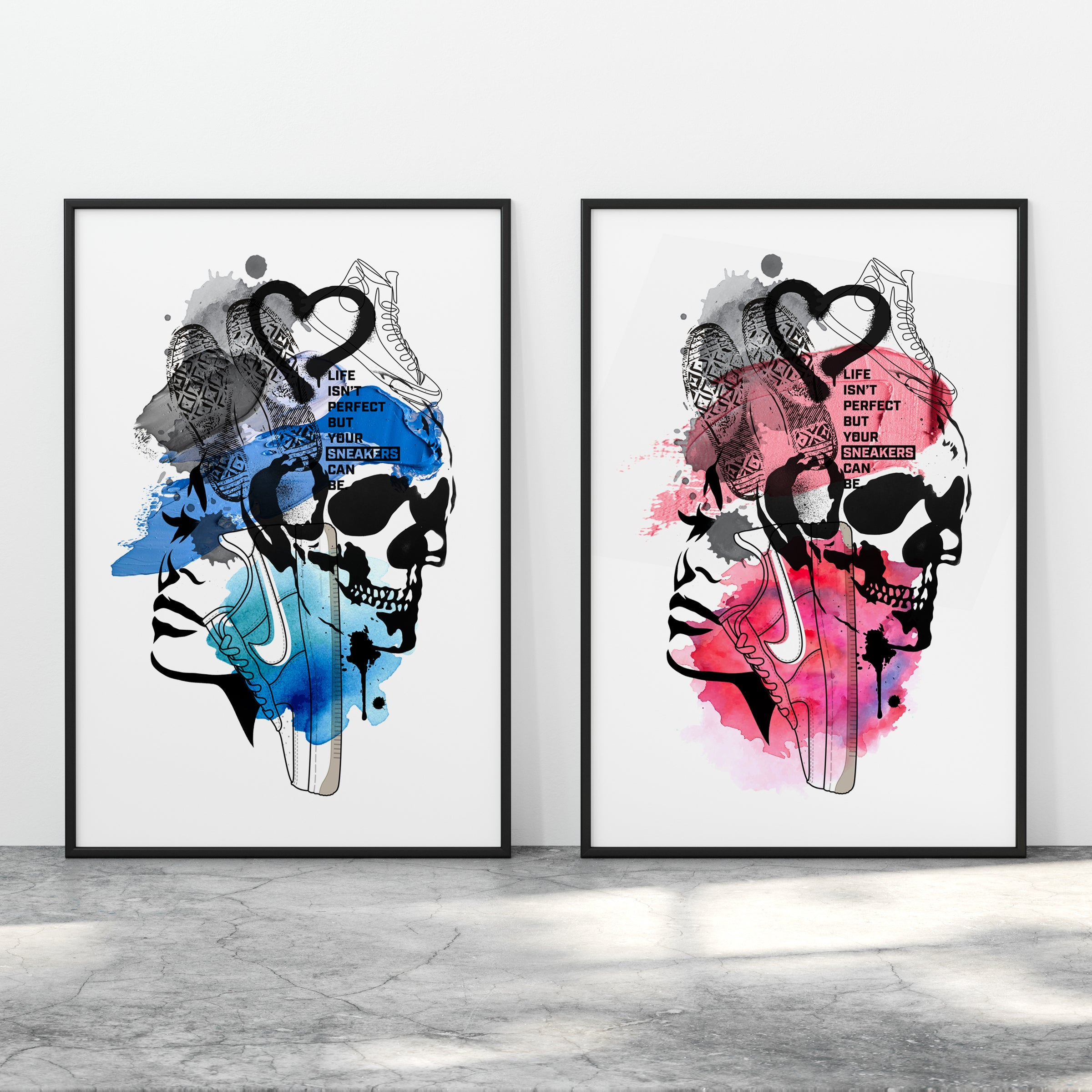 Perfect Sneakers - Limited Edition Art Print
