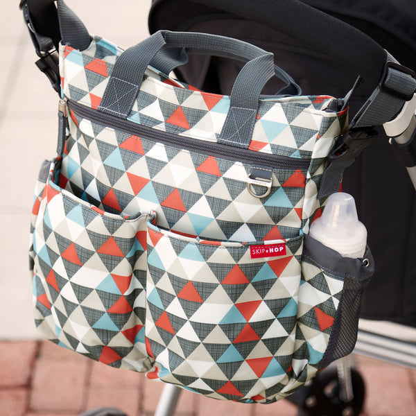 Diaper bag duo <br/> Signature Triangles