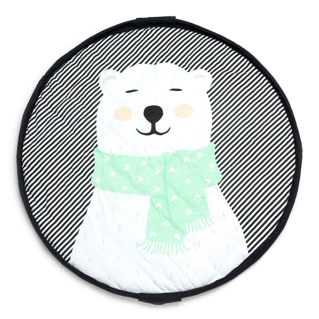 Playmat & <br/> Storage bag <br/> Polar Bear