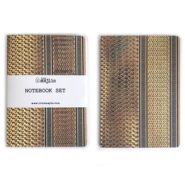 Notebooks <br/> A5 <br/> Set of 3