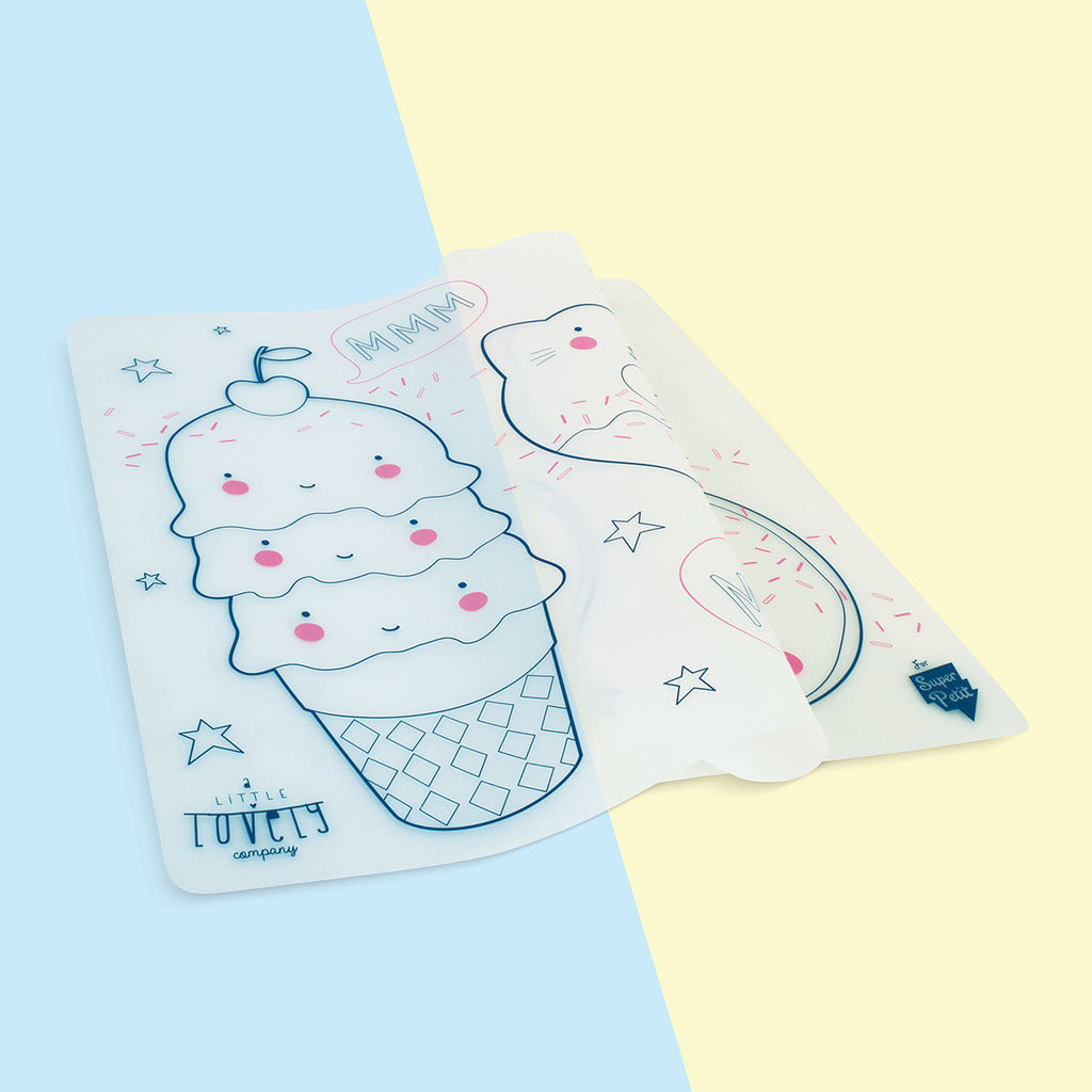 A Little Lovely Company inspired Silicone Placemat from Super Petit