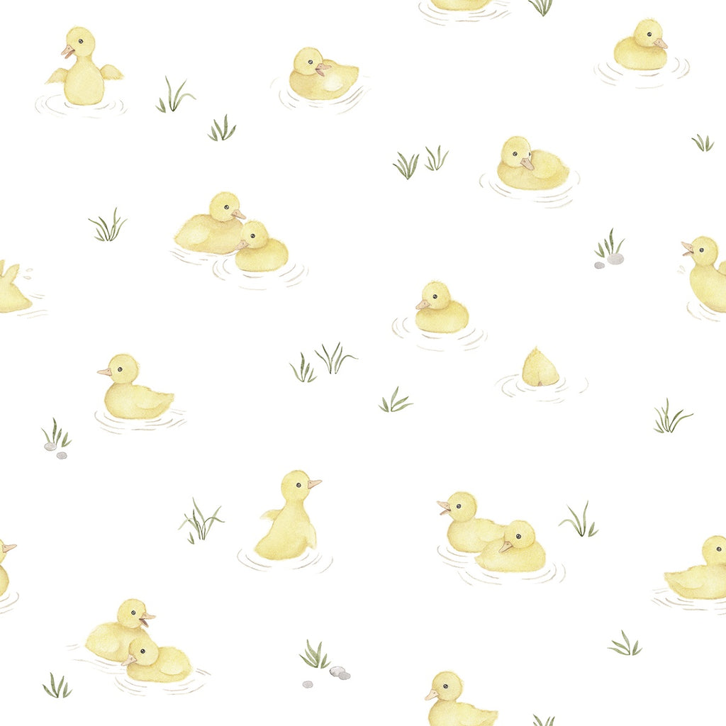 Wallpaper <br/> Yellow <br/> Ducks