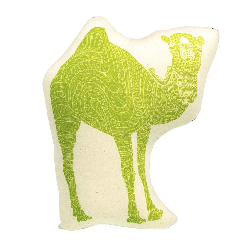 Character <br/> Cushion <br/> Camel Green