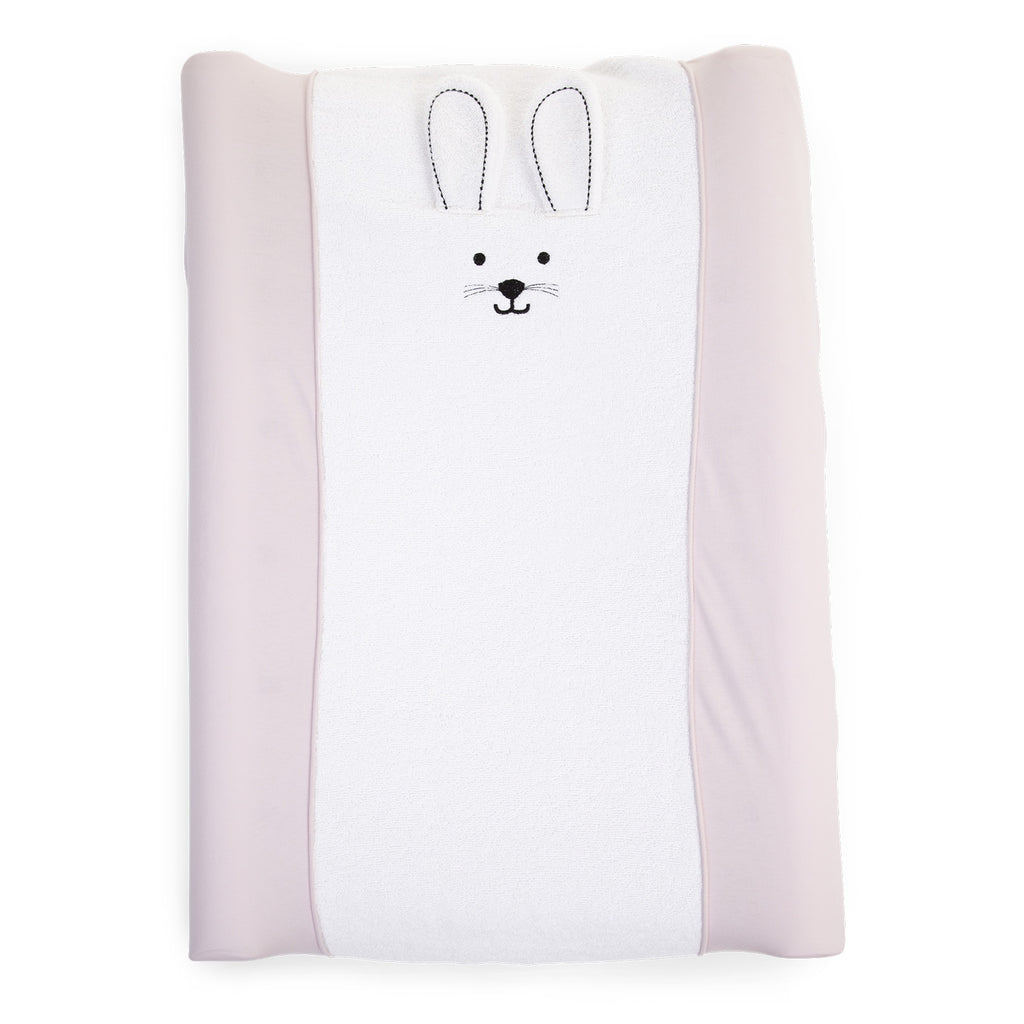 Changing Cushion <br/> Cover Jersey <br/> Rabbit Pink