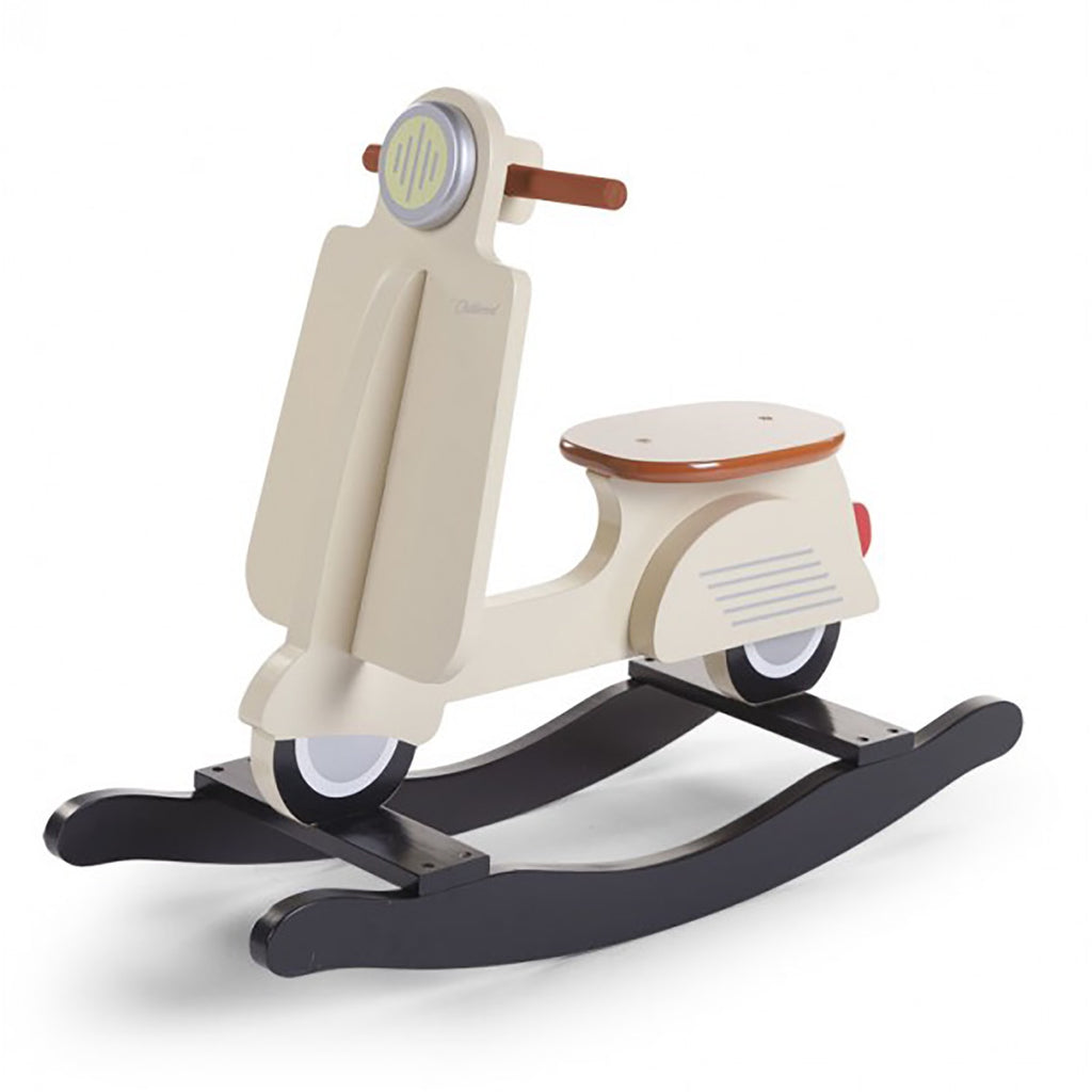 Rocking scooter in beige from Childhome