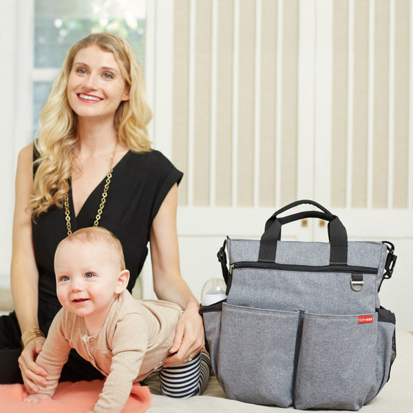 Diaper bag <br/> duo Signature <br/> Heather Grey